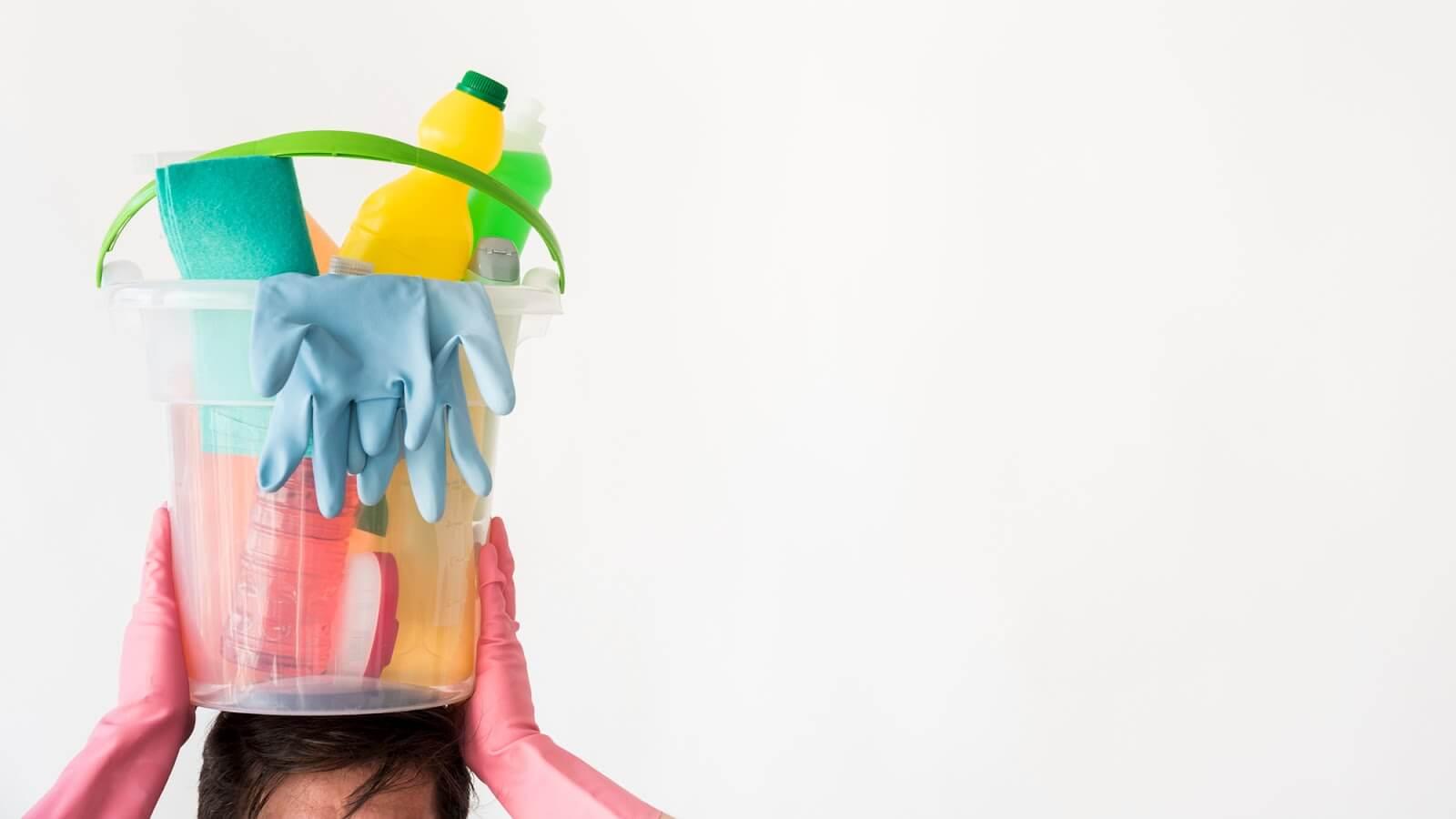 Limpeza pesada: entenda como facilitar a tarefa
